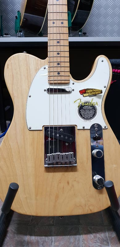 FENDER Telecaster American Standard Natural Ash - FUORITUTTO