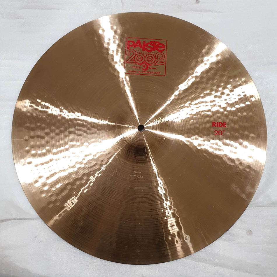 "Paiste 2002 Ride 20"" - FUORITUTTO"