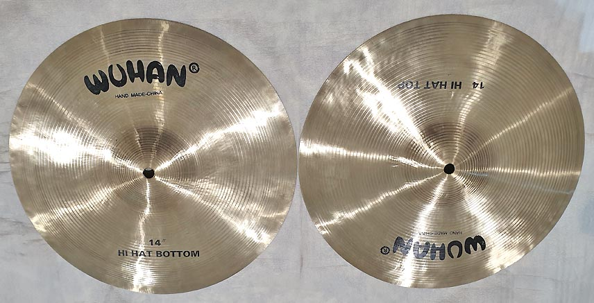 "WUHAN HI-HAT 14"" - FUORITUTTO"