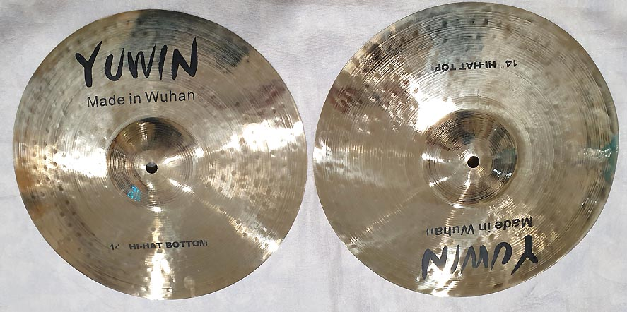 "YUWIN YUCHH14 REGULAR HI-HAT 14"" - FUORITUTTO"