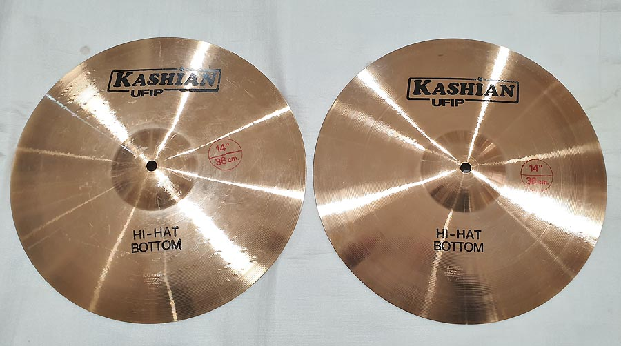 "UFIP KASHIAN HI-HAT 14"" - BLACKFRIDAY"