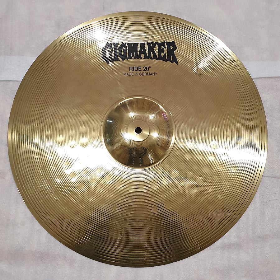 GIGMAKER by Paiste Ride 20""