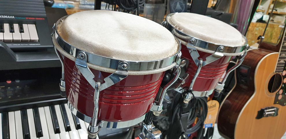 BONGOS PROFESSIONAL RED