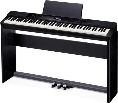 CASIO PX160 BK Set: Pianoforte + Stand