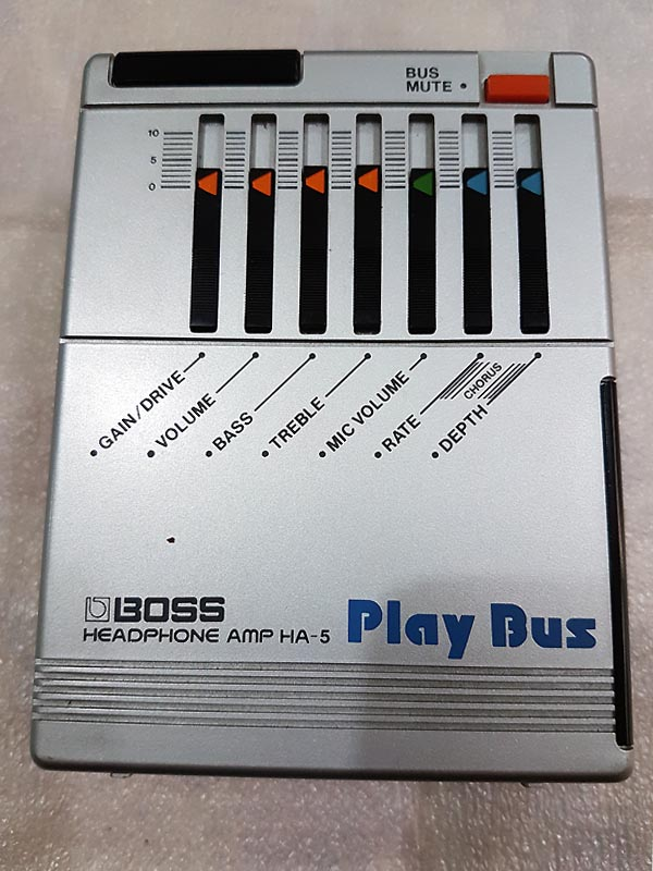 BOSS PlayBus '83 HA-5 - FUORITUTTO