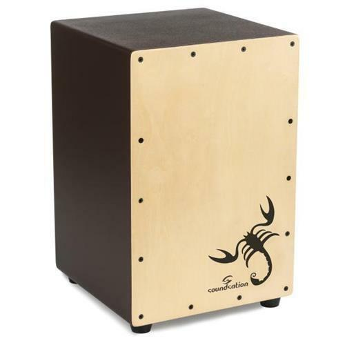 CAJON SOUNDSATION SCAJ-05-FP TATTOO SCORPION