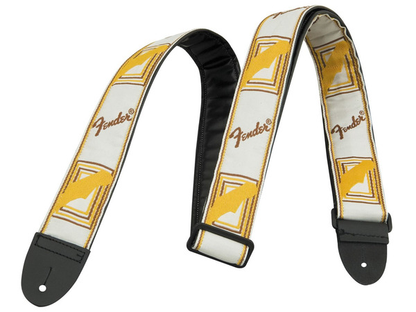 FENDER Fascia Monogrammed White / Brown / Yellow