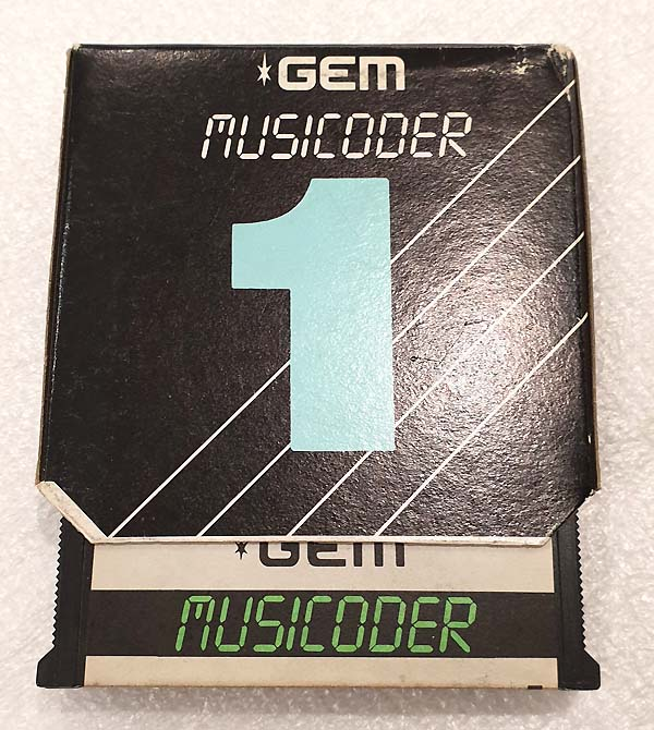 GEM MUSICODER CARTRIDGE 1