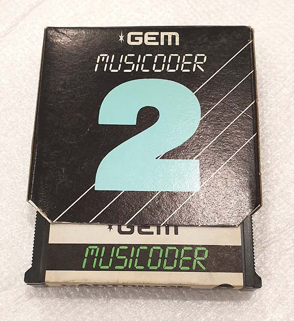 GEM MUSICODER CARTRIDGE 2