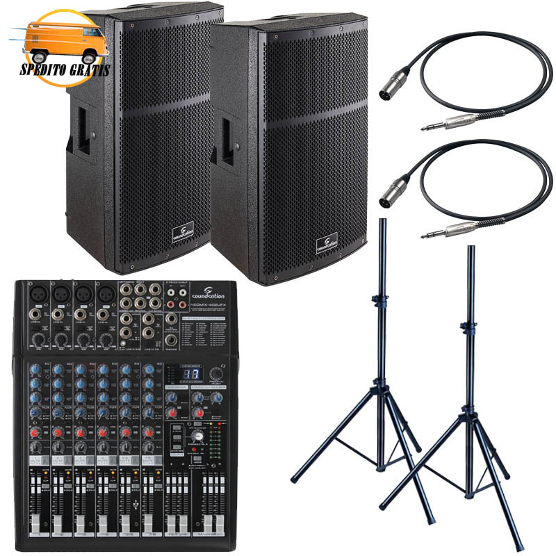 HYPER-TOP '15 LIVE PACK LARGE - CON MIXER 6 CANALI