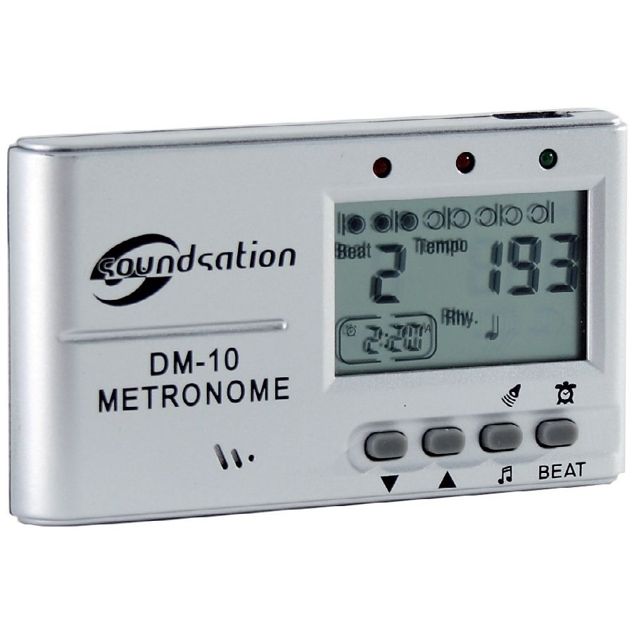 SOUNDSATION DM-10 Metronomo Digitale con Altoparlante