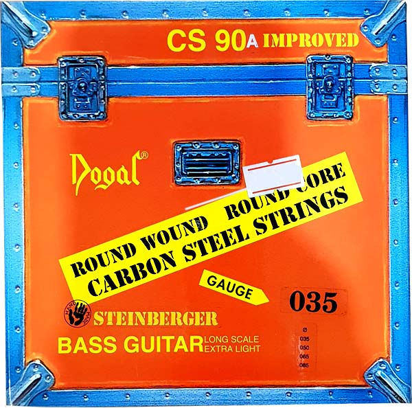 DOGAL CS90A Carbon steel - basso steinberger
