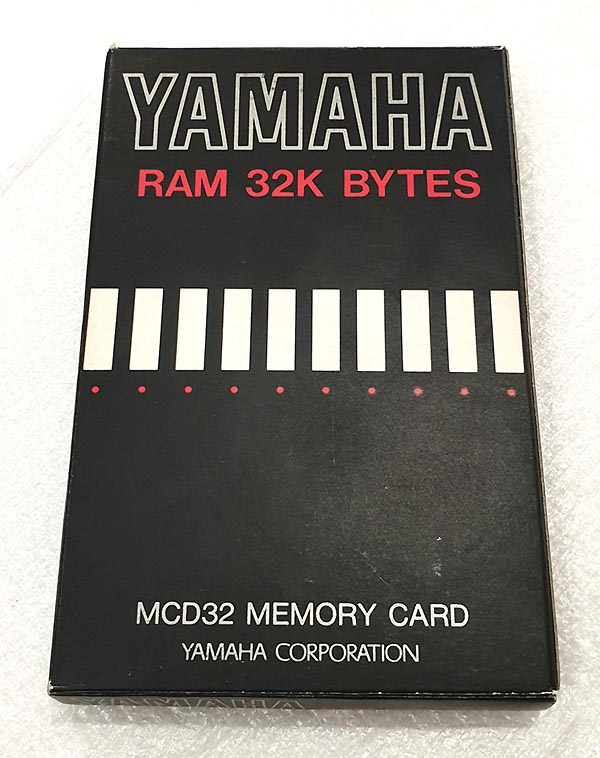 YAMAHA MACD32 Data Memory Card - 32K RAM